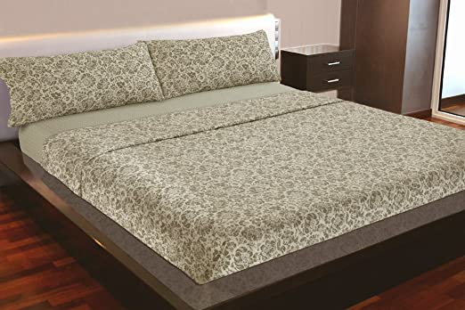 Juego de sábanas Algodón 100% (TUNEZ, para cama de 180x190/200 ...