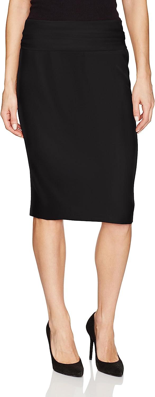 Norma Kamali Women's Straight Skirt
