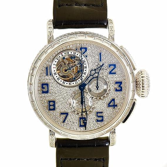 Zenith Piloto automatic-self-wind Mens Reloj 45.2430.4035/79.c714 (Certificado) de segunda mano: Zenith: Amazon.es: Relojes