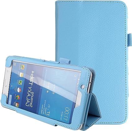 Funda Para Samsung Galaxy Tab 4 7 0 7 Tab 4 7 0 Samsung Tablet Case 7 Pulgadas Ultra Delgada Plegable Cuero Pu Funda Soporte Soporte Funda Para Samsung Galaxy Tab 4 7 7