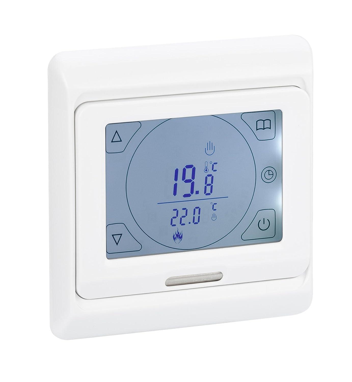 Digital Raumthermostat DRT-TS mit Touchscreen für elektrische ...