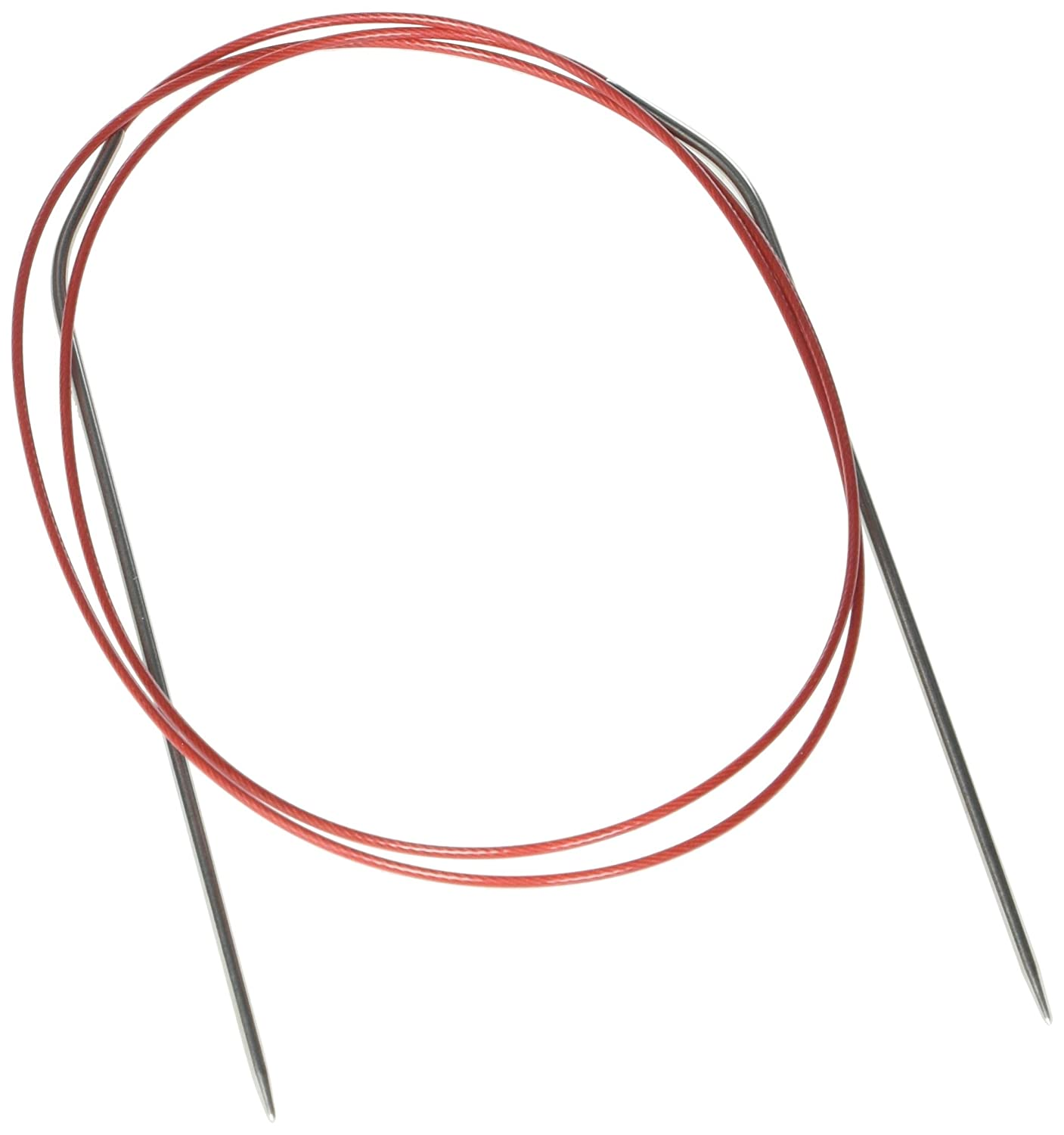 ChiaoGoo Red Lace Circular 40-inch (100cm) Stainless Steel Knitting Needle; Size US 0 (2mm) 7040-0 Westing Bridge LLC. BCAC19203