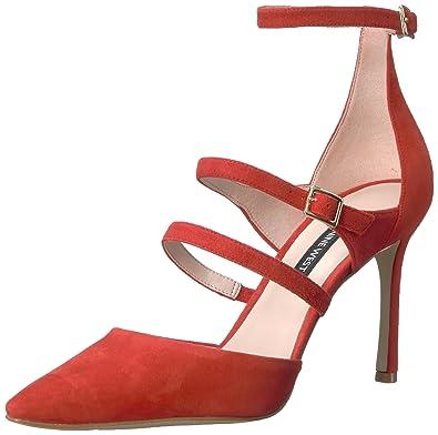 1471da08585 Nine West Women s Enchanting Suede Heeled Sandal