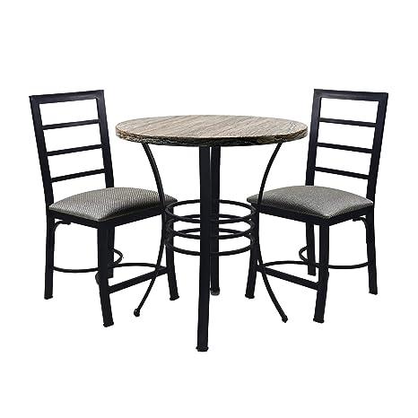 Amazon.com: NB Liner - Juego de mesa de comedor y silla de ...