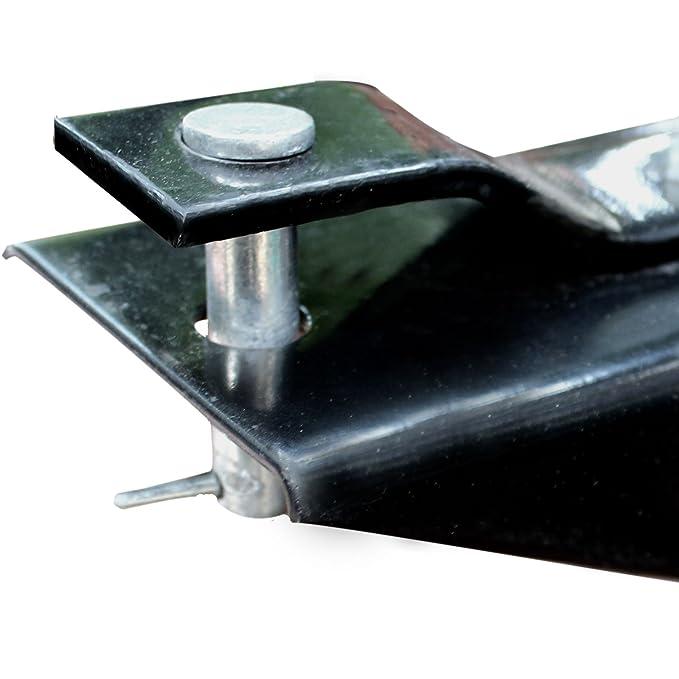 TrutzHolm® Anhänger Rasentraktor 300 kg kippbar Aufsitzmäher Hänger ...