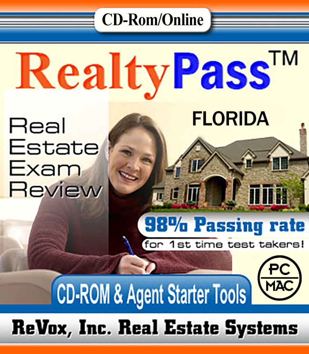 Amazon.com: 2018 Florida Realty Pass Real Estate Exam Prep Study Guide  Questions and Answers Interactive Software