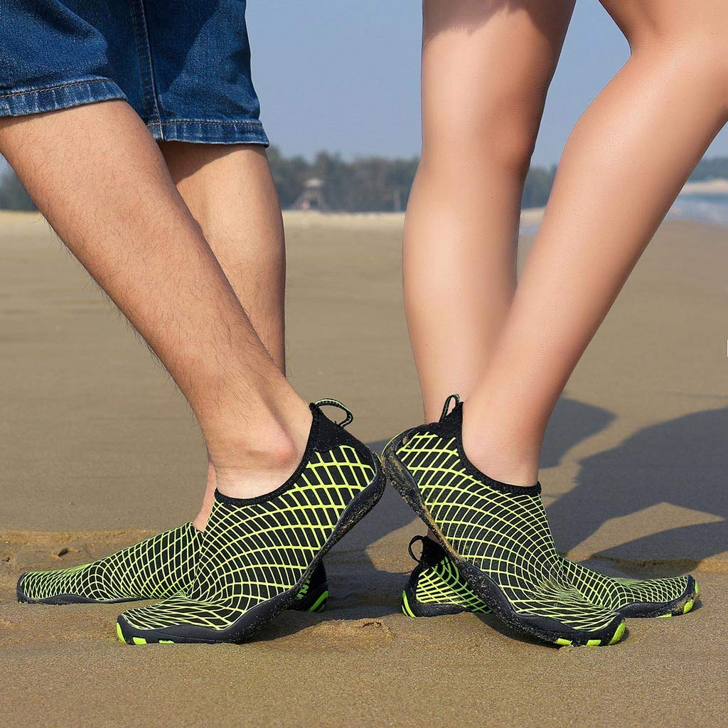 RAINED-Women Men Barefoot Quick-Dry Water Sports Shoes Aqua Socks for Swim Beach Pool Surf Yoga Sport Shoes Sneaker