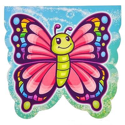 Dozen Butterfly Design Mini Memo Notepads: Toys & Games [5Bkhe1006423]
