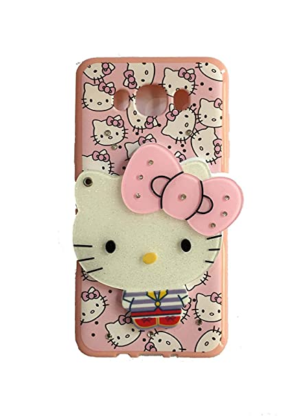 ce6206fda Anvika Cute Mirror Kitty for Girls Back Case Cover for Galaxy J7 (2016) /