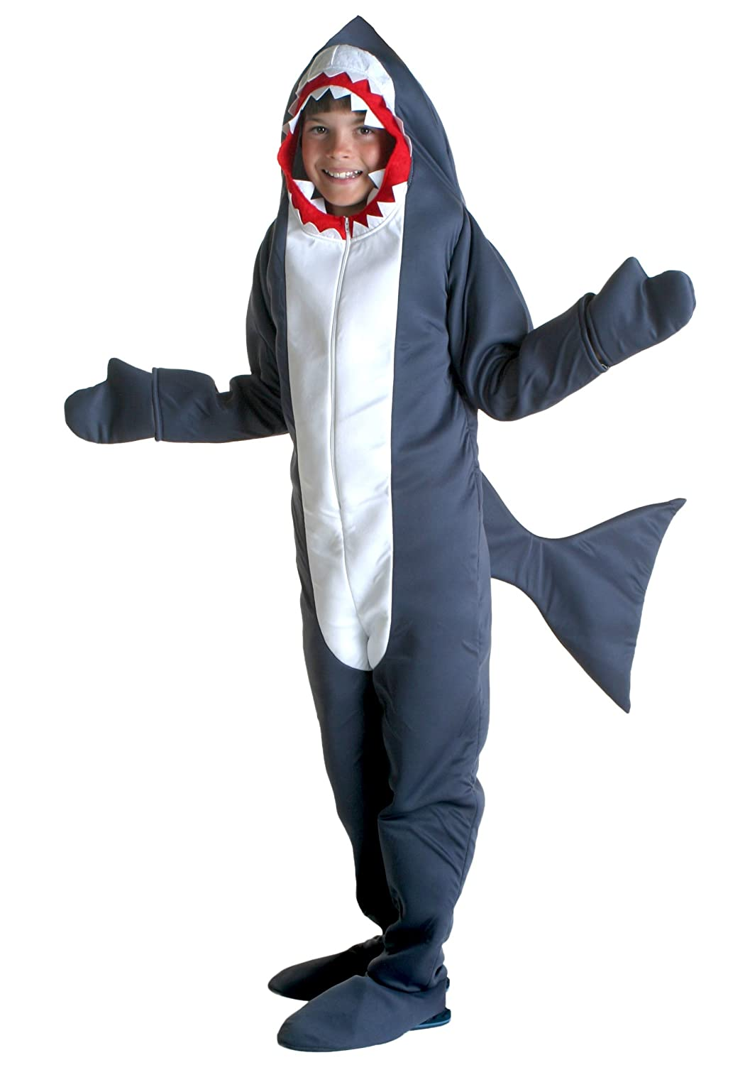 Fun Costumes Big Boys' Shark Jumpsuit Costume