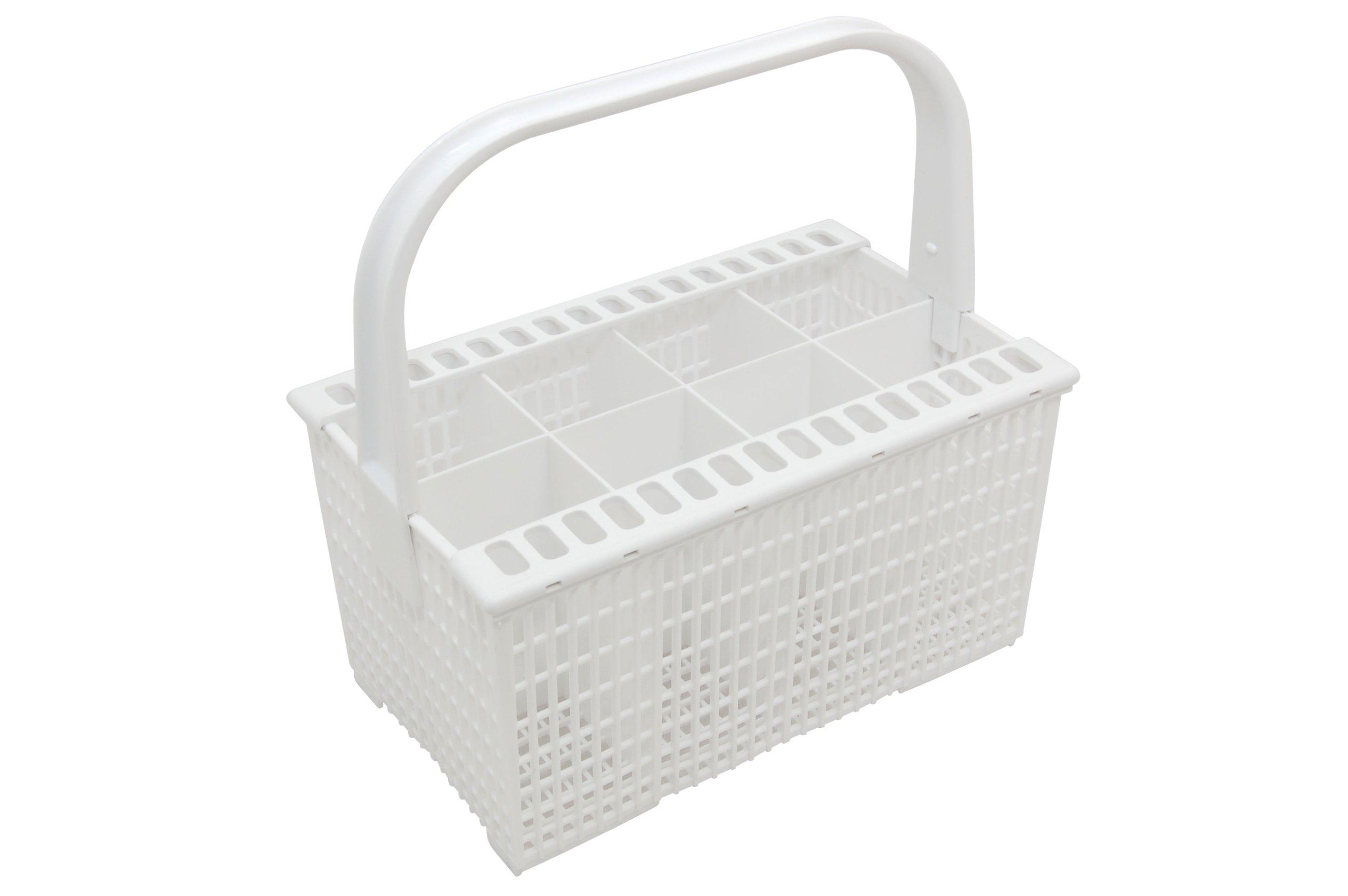 Zanussi - Cubertero para lavavajillas con asa y soporte para cuchillos, color blanco product image