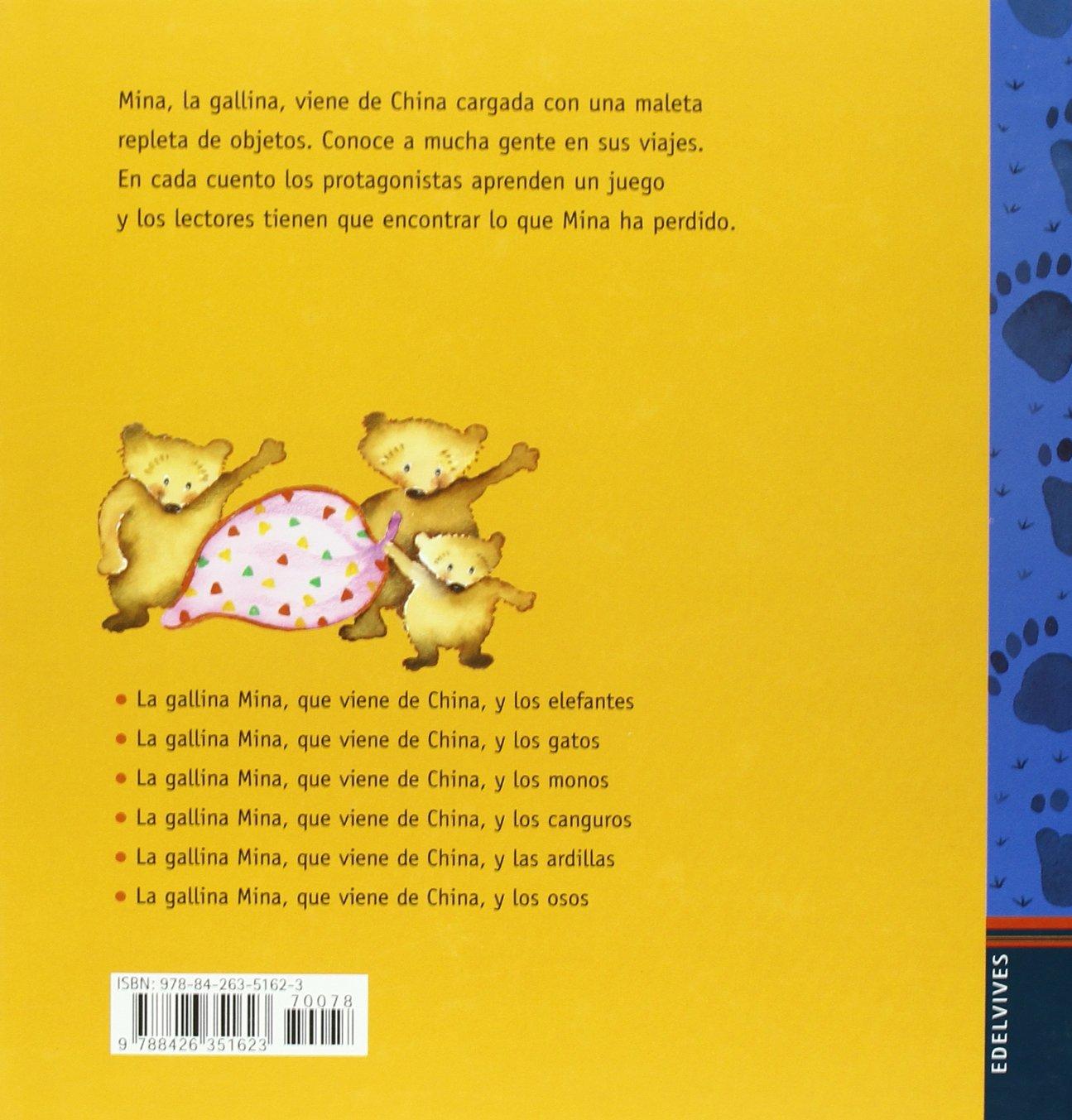 La gallina Mina que viene de China y los osos: Mercè Arànega: 9788426351623: Amazon.com: Books