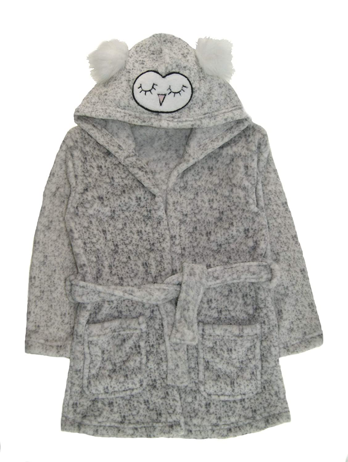 Scruffy Ted Boys Shark Dressing Gown Hooded 3D Bath Robe