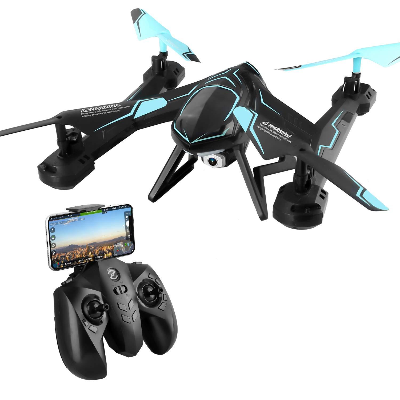 Dron Toyen TG-AG01 RC, 2,4 GHz, FPV, WiFi, mando a distancia ...