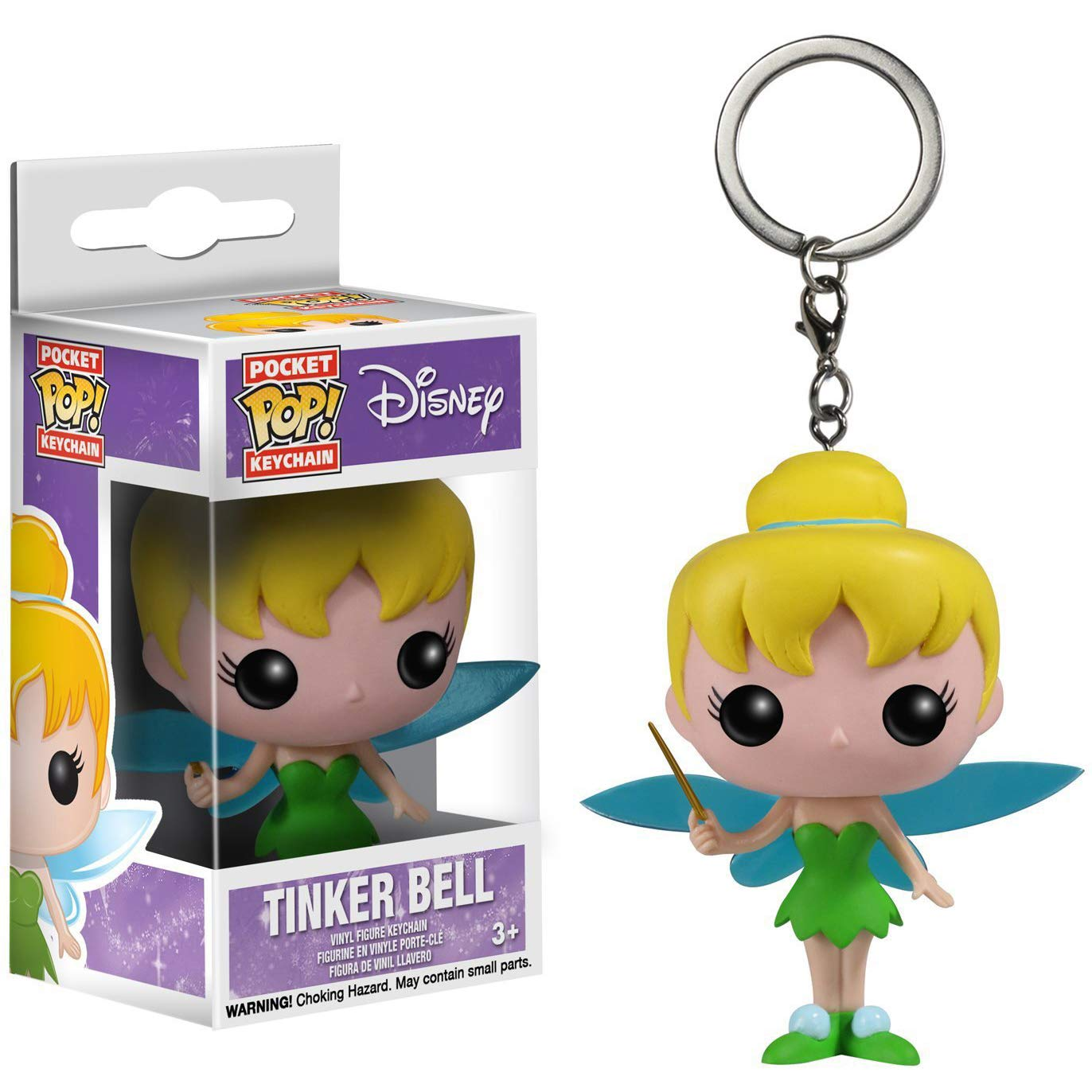 Amazon.com: Funko Tinker Bell Pocket POP! Mini-Figural ...