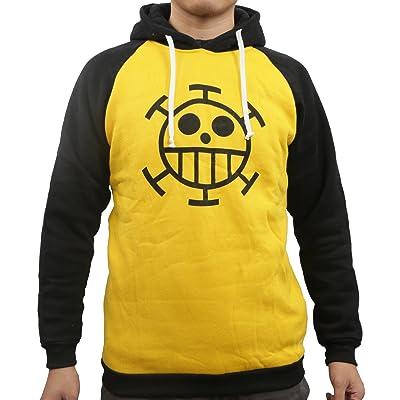 One Piece Sweatshirt Cotton Anime Trafalgar Law Shirt Cosplay Costume: Toys & Games