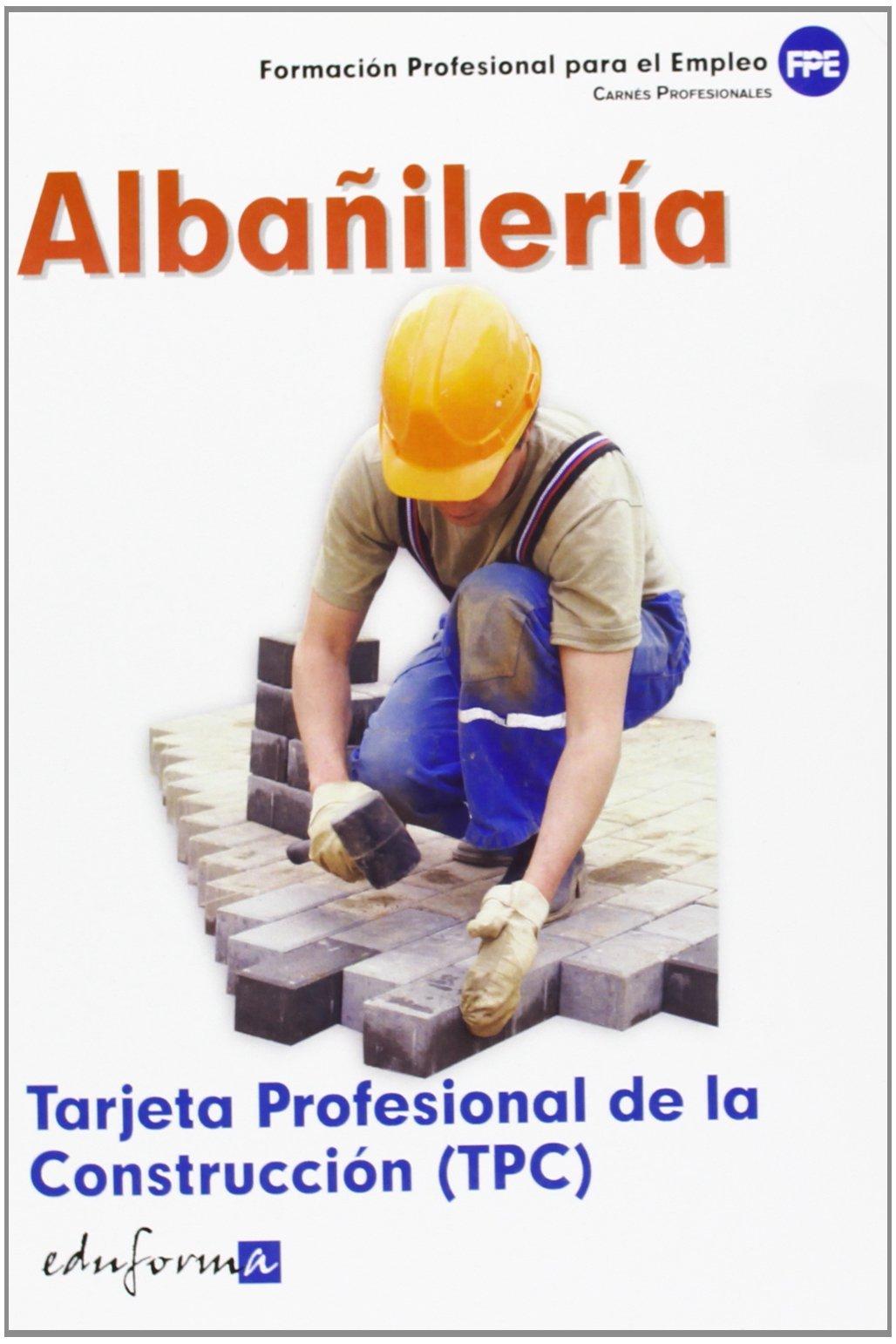 Tarjeta Profesional De La Construcción Tpc . Albañilería. Carnés ...
