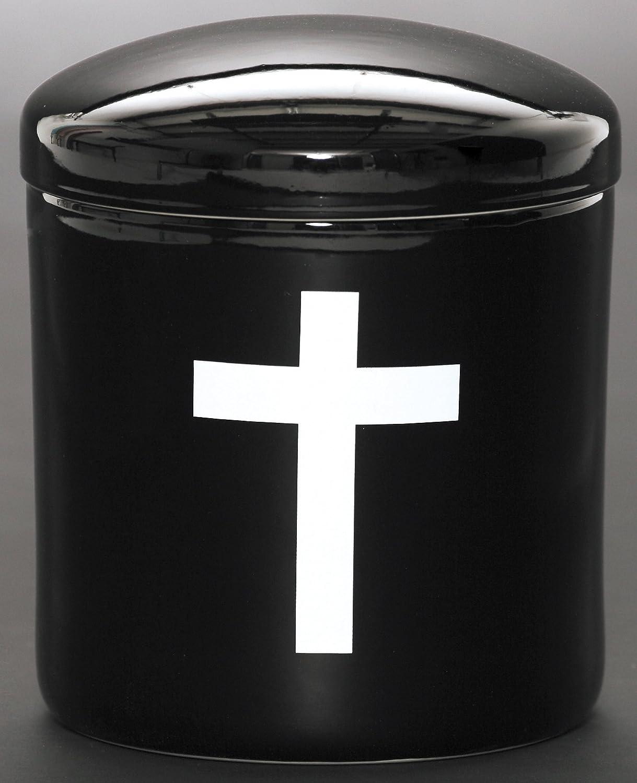 せともの本舗 骨壺 黒キリスト 胴径約21.2x高さ約24.5cm B07C1ZKW5X 胴径約21.2x高さ約24.5cm|黒キリスト 黒キリスト 胴径約21.2x高さ約24.5cm