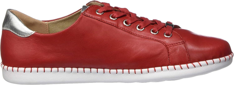 CAPRICE Damen Inna Sneaker Rot