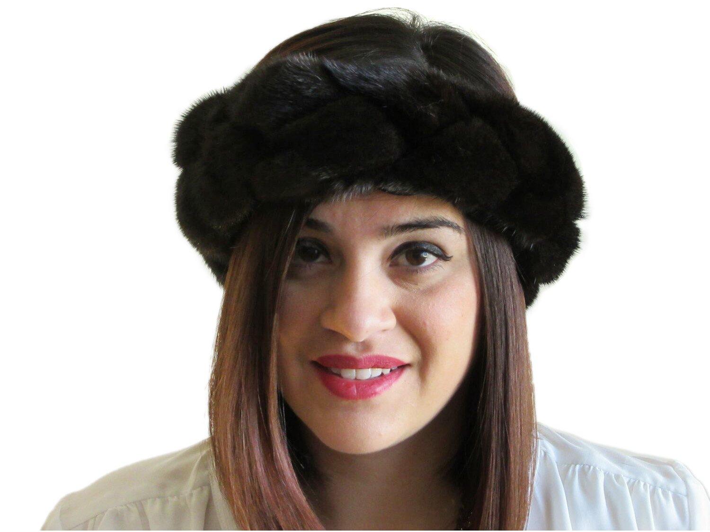 Braided Ranch Mink Headband, Neck Warmer & Collar
