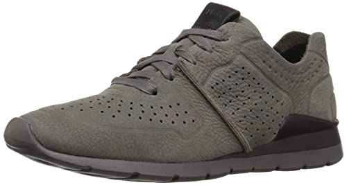 b3df35e25ca UGG - Tye - Charcoal - Leather Trainers: Amazon.co.uk: Shoes & Bags