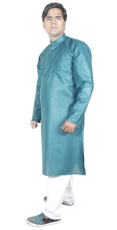 RoyaltyLane Camisa casual hombre pijama color verde manga larga algodón vestidos elegantes cortos: Amazon.es: Ropa y accesorios