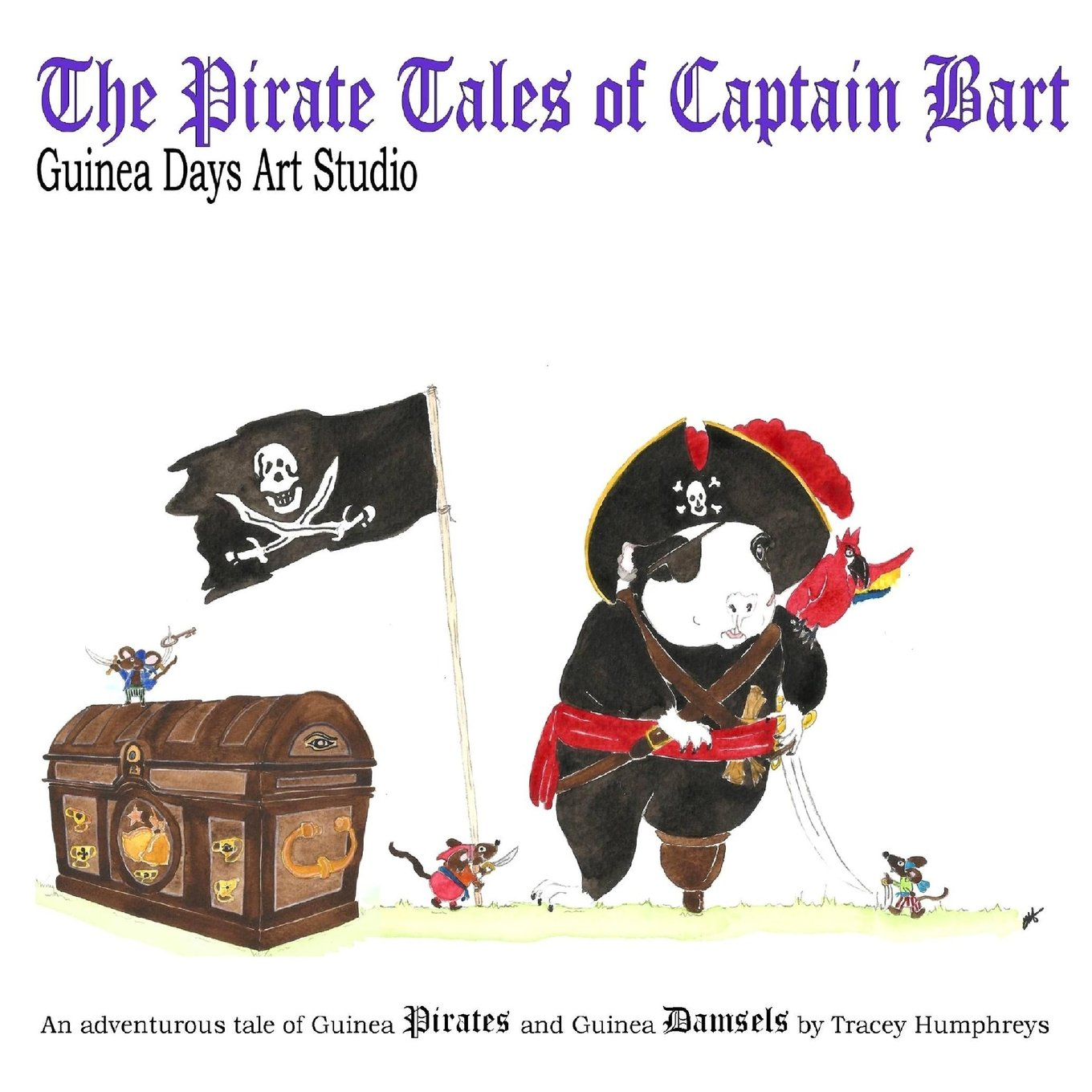 The Pirate Tales of Captain Bart: Guinea Days Art Studio