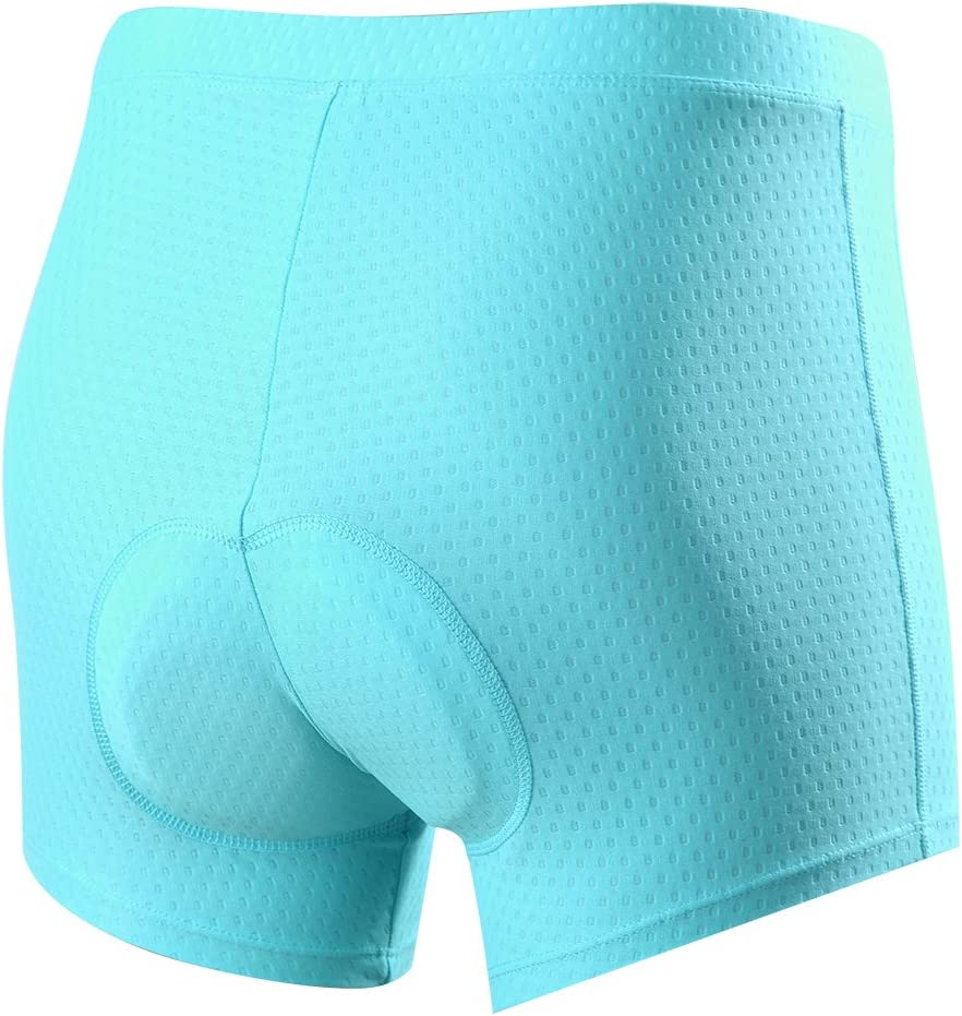 Souke Sports Pantaloncini da Ciclismo da Donna Biancheria Intima 3D Imbottitie Traspiranti