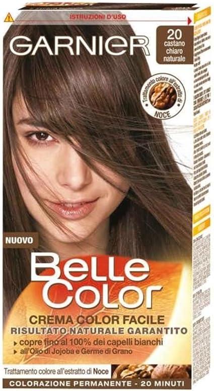 Garnier Belle Color 020 Castaño Claro: Amazon.es: Belleza