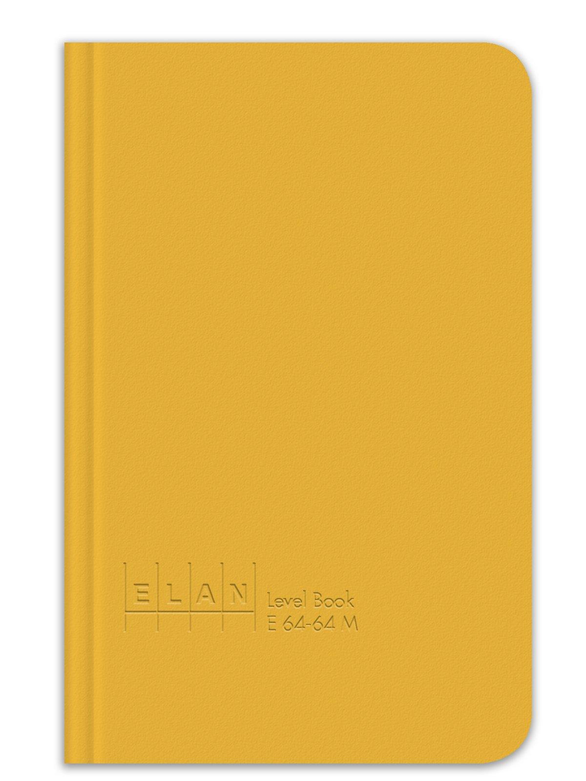 Elan Publishing Company E64-64M Mini Level Book 4 ⅛ x 6 ½, Yellow Cover (Pack of 48)