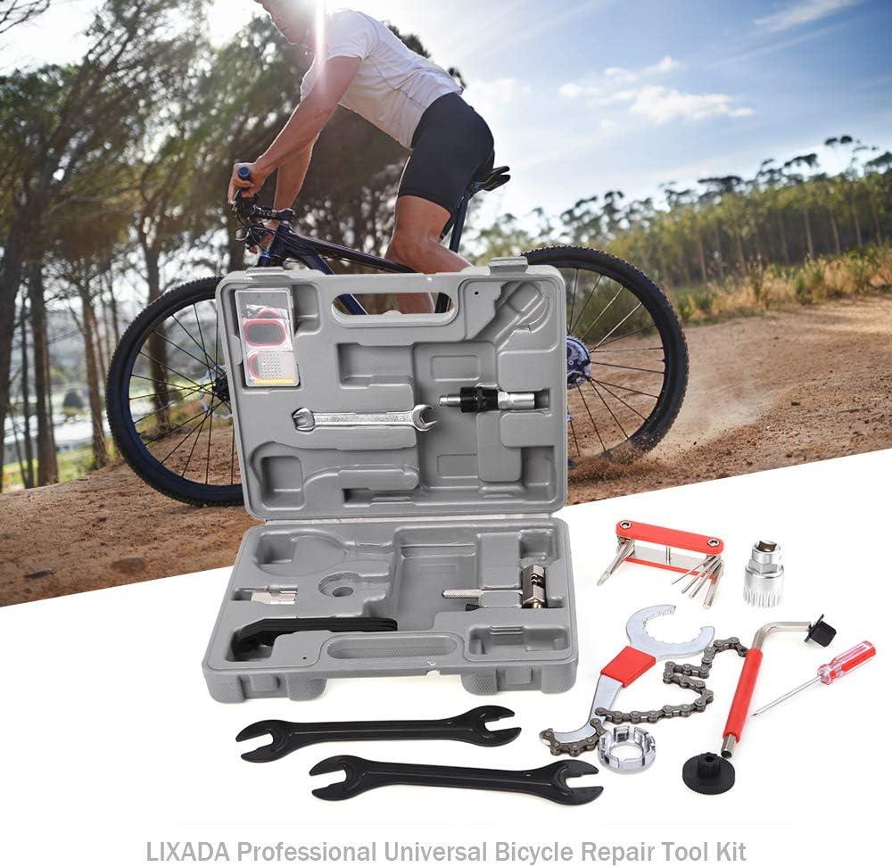 Lixada kit di manutenzione professionale per bicicletta