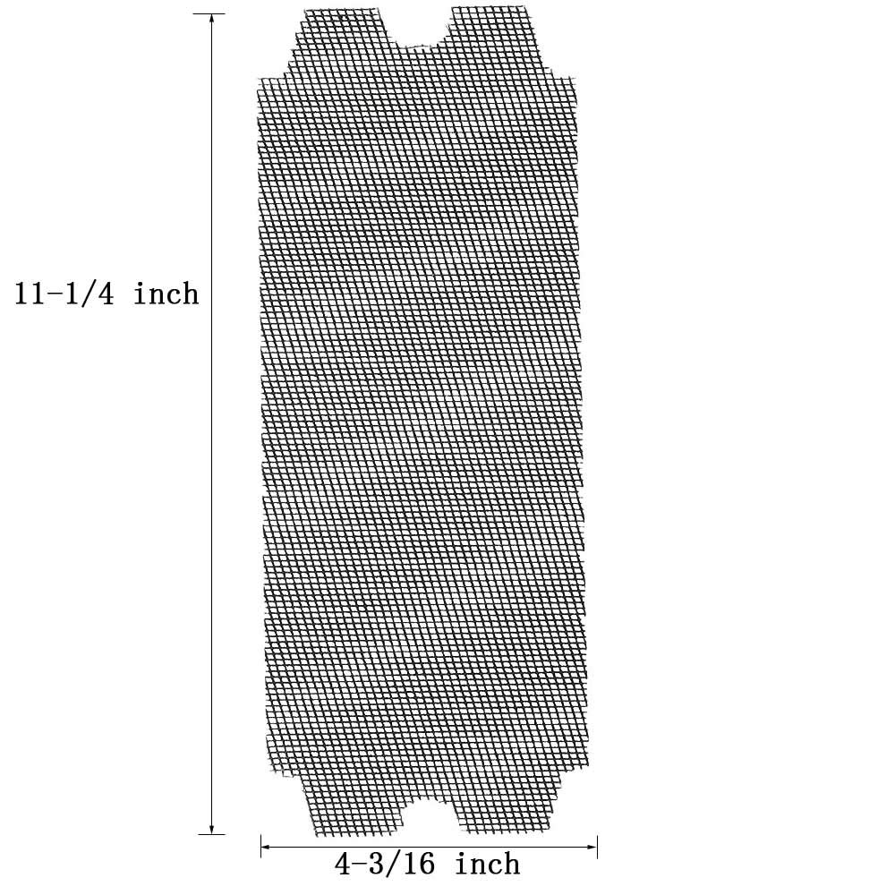 Drywall Sanding Screen 4 3//16in.x 11 1//4 in.120 Grit 12pcs
