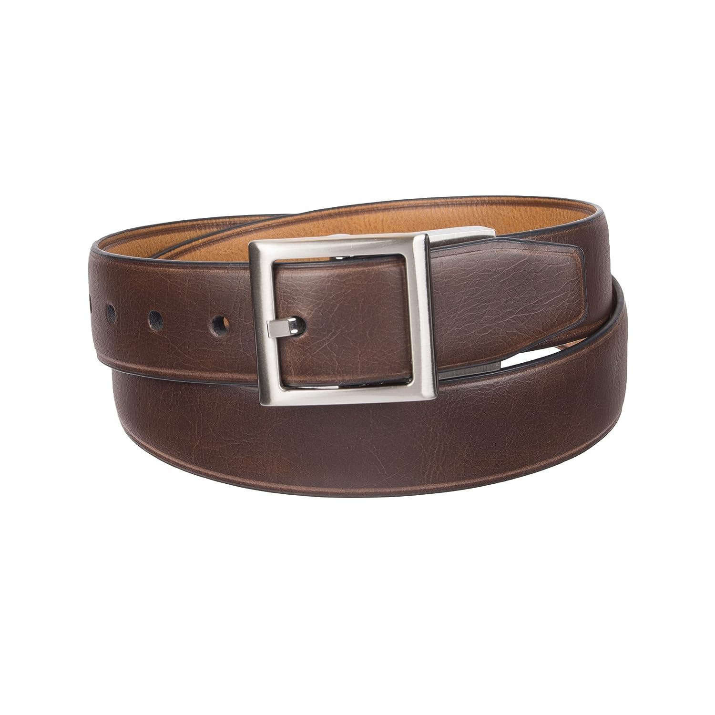 Dockers Boys' Big Reversible to Brown Belt 12DK0115