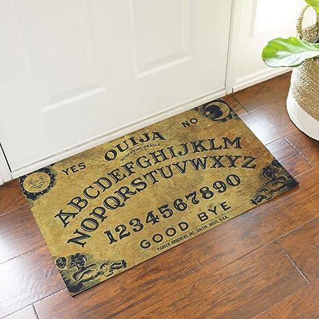 Jeteven Ouija Board Doormat Rubber Non Slip Indoor/Outdoor Floor Mat Rug  75X45cm/29.5