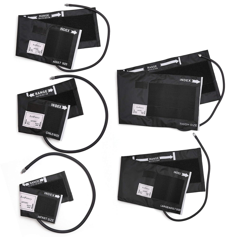 Amazon.com: LotFancy - Esfigmomanómetro y estetoscopio de ...
