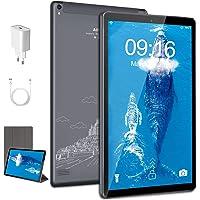 Tablet 10.1 Pulgadas Android 10 5G WiFi, 4GB RAM+64GB ROM(128GB Expandible) FHD+ 1280 * 800 Rsolución 5MP+2MP Cámara…