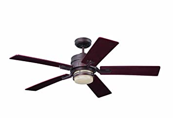 Emerson Ceiling Fans CF880VNB Amhurst Indoor Ceiling Fan With ...
