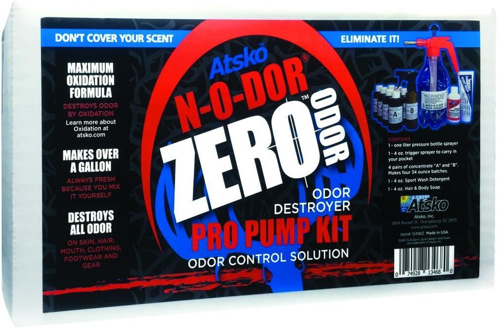 Atsko Zero N-O-DOR Oxidizer Prop Pump Refill Kit, Black