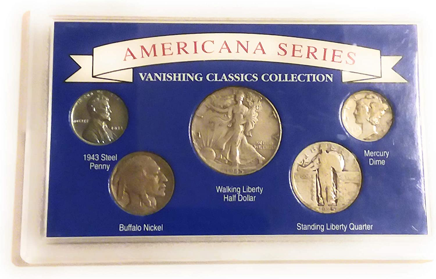 6-coins Classic Half Dollar Collection