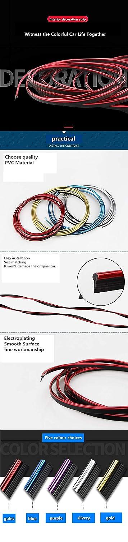 Lot de 10 bandes autocollantes pour d/écoration int/érieure et ext/érieure pour A180 B200 CLA CLK GLA AMG C E S