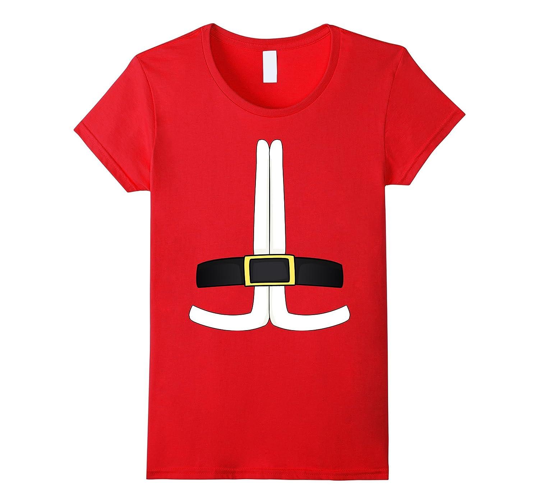 Santa Claus Costume Santa Suit Christmas Outfit T-Shirt