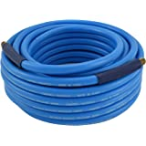 "Campbell Hausfeld 50 Foot Air Hose, 3/8"" PVC with Bend Restrictors (PA121600AV)"