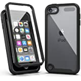 iPod Touch 7 Case,iPod Touch 6 Case,SLMY Armor Shockproof Case with Build in Screen Protector Heavy Duty Shock Resistant…