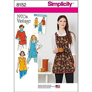 Simplicité pour femme Patron de couture facile 8152 1970 de ...