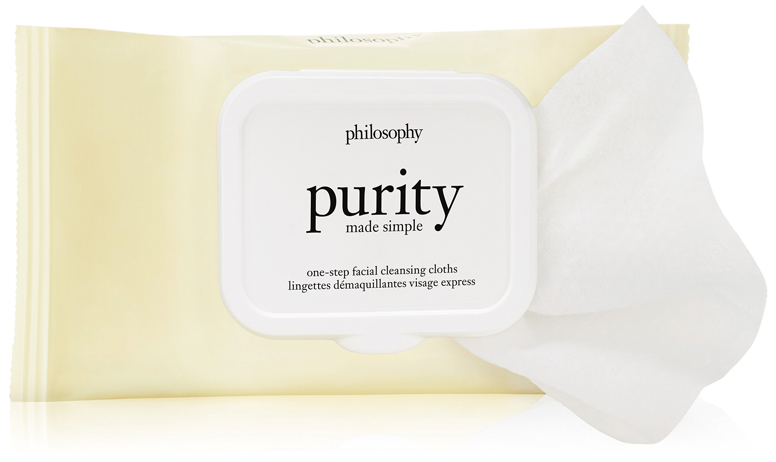 Philosophy Purity Made Simple Facial Cleansing Cloths, 30 Count