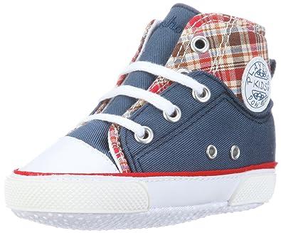 Playshoes Canvas Babyschuhe 121536 Unisex-Baby Krabbelschuhe