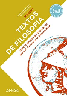 Textos de Filosofía para la EvAU.: Amazon.es: Sarrión Mora, Adelina: Libros