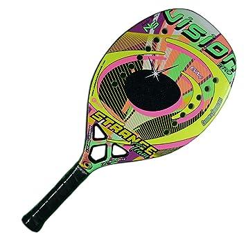 Vision Pala de Tenis Playa STRANGE TEAM 2018: Amazon.es: Deportes y aire libre