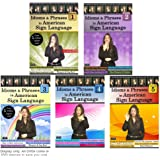 Idioms & Phrases in American Sign Language, Vol. 1-5 (5-DVD Set)