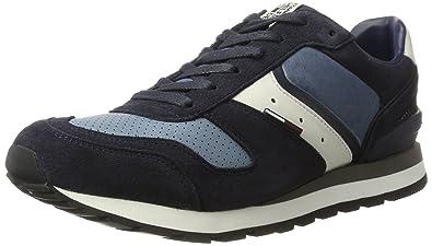 Herren B2385ARON 1C1 Zehenkappen, Schwarz (Black-Monaco Blue 0000Ff), 41 EU Tommy Jeans